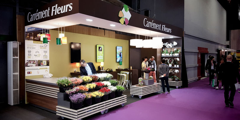 F lix et associ s project carr ment fleurs at franchise expo paris space - Salon de la franchise date ...