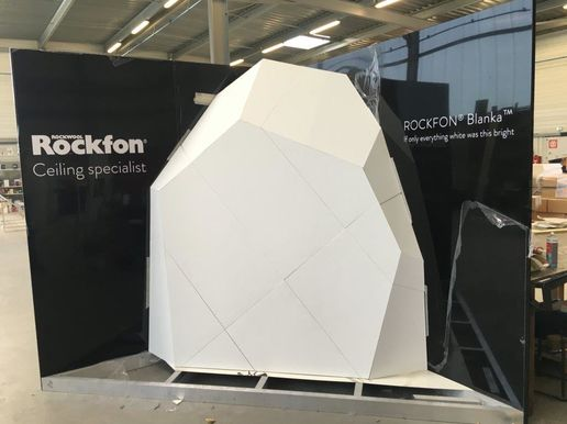 Rockfon : Stand Architect@work 2015