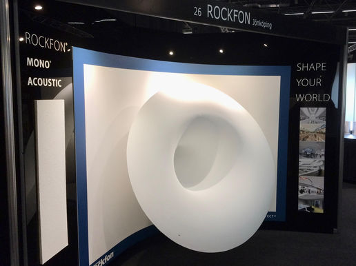 Rockfon : Stand Architect@work 2017